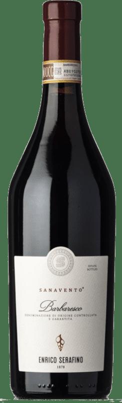 41,95 € Free Shipping | Red wine Enrico Serafino Sanavento D.O.C.G. Barbaresco Piemonte Italy Nebbiolo Bottle 75 cl