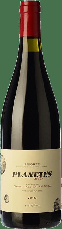 29,95 € Free Shipping | Red wine Nin-Ortiz Planetes de Nin Garnatxa Vi Natural d'Àmfora Crianza D.O.Ca. Priorat Catalonia Spain Grenache Bottle 75 cl