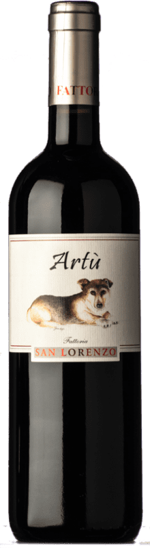 14,95 € Free Shipping | Red wine San Lorenzo Artù I.G.T. Marche Marche Italy Sangiovese, Montepulciano Bottle 75 cl