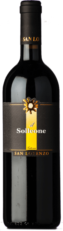 28,95 € Free Shipping | Red wine San Lorenzo Solleone I.G.T. Marche Marche Italy Montepulciano Bottle 75 cl