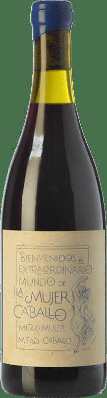 29,95 € Free Shipping   Red wine Fil'Oxera La Mujer Caballo Azul Crianza D.O. Valencia Valencian Community Spain Arco Bottle 75 cl
