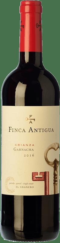 7,95 € Free Shipping | Red wine Finca Antigua Crianza D.O. La Mancha Castilla la Mancha Spain Grenache Bottle 75 cl