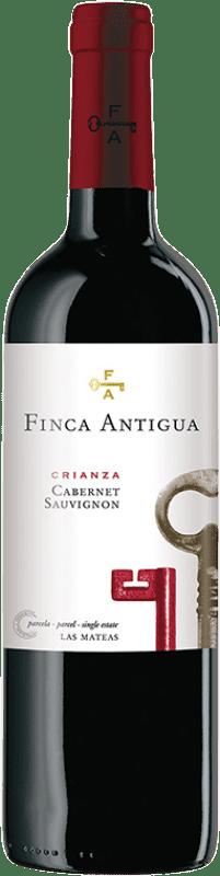 7,95 € Free Shipping | Red wine Finca Antigua Crianza D.O. La Mancha Castilla la Mancha Spain Cabernet Sauvignon Bottle 75 cl