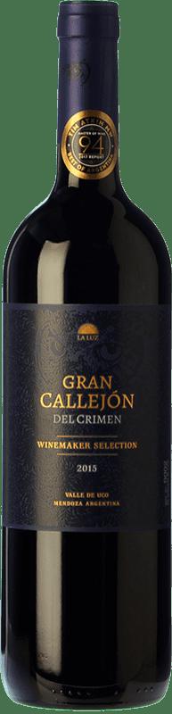 31,95 € Free Shipping   Red wine Finca La Luz Callejón del Crimen Gran Callejón Crianza I.G. Valle de Uco Uco Valley Argentina Merlot, Malbec, Petit Verdot Bottle 75 cl
