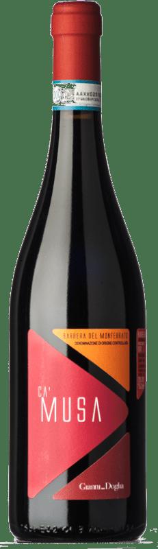12,95 € Free Shipping | Red sparkling Gianni Doglia Frizzante Cà Musa D.O.C. Barbera del Monferrato Piemonte Italy Barbera Bottle 75 cl