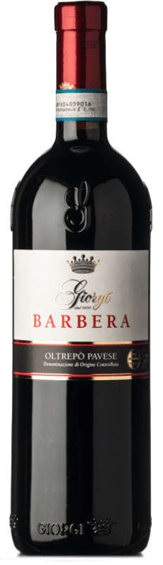 12,95 € Free Shipping | Red sparkling Giorgi Frizzante D.O.C. Oltrepò Pavese Lombardia Italy Barbera Bottle 75 cl