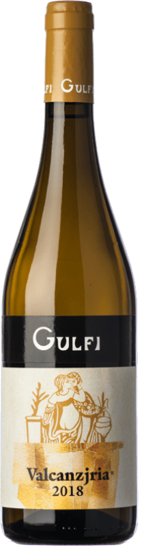 14,95 € Free Shipping | White wine Gulfi Valcanzjria D.O.C. Sicilia Sicily Italy Chardonnay, Carricante Bottle 75 cl