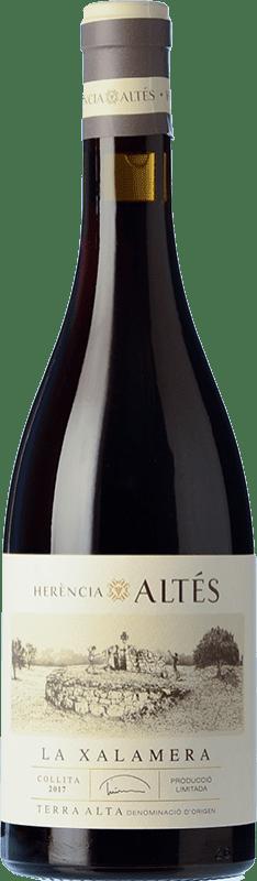 29,95 € Free Shipping | Red wine Herència Altés La Xalamera Roble D.O. Terra Alta Catalonia Spain Grenache Bottle 75 cl