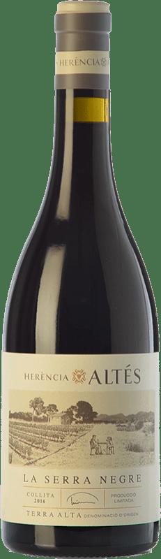 35,95 € Free Shipping | Red wine Herència Altés La Serra Negre Roble D.O. Terra Alta Catalonia Spain Grenache Bottle 75 cl