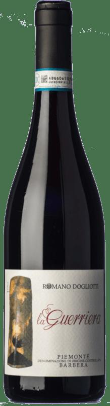 9,95 € Free Shipping | Red sparkling La Caudrina Frizzante La Guerriera D.O.C. Barbera d'Asti Piemonte Italy Barbera Bottle 75 cl