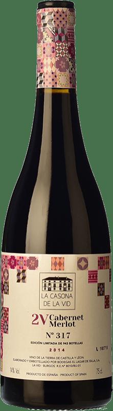 17,95 € Free Shipping | Red wine Lagar de Isilla La Casona de la Vid 2V Crianza I.G.P. Vino de la Tierra de Castilla y León Castilla y León Spain Merlot, Cabernet Sauvignon Bottle 75 cl