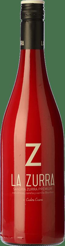 13,95 € Free Shipping | Sangaree La Zurra Premium Spain Bottle 75 cl