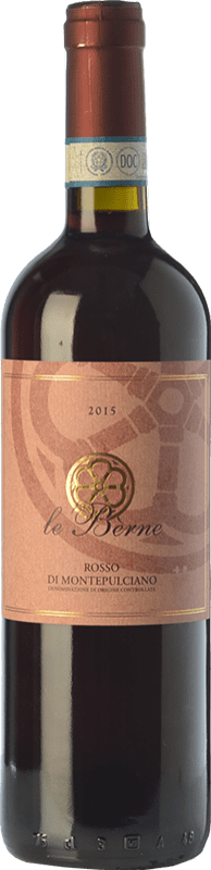 10,95 € Free Shipping   Red wine Le Bèrne D.O.C. Rosso di Montepulciano Tuscany Italy Prugnolo Gentile Bottle 75 cl