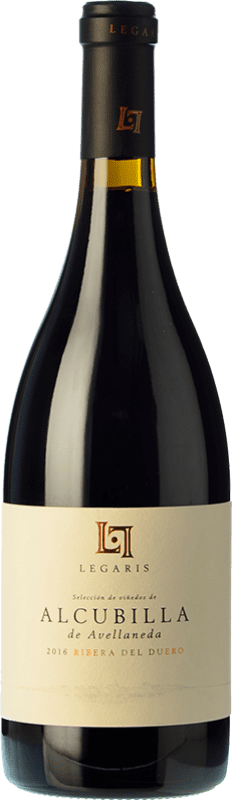 39,95 € Free Shipping   Red wine Legaris Alcubilla de Avellaneda Crianza D.O. Ribera del Duero Castilla y León Spain Tempranillo Bottle 75 cl