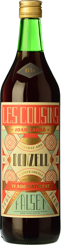 13,95 € Free Shipping | Vermouth Les Cousins Donzell D.O. Catalunya Catalonia Spain Bottle 70 cl