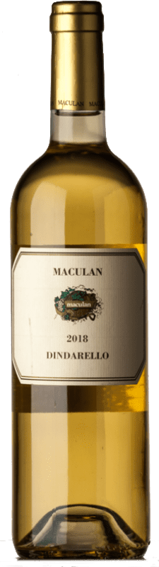 23,95 € Free Shipping | Sweet wine Maculan Bianco Passito Dindarello I.G.T. Veneto Veneto Italy Muscat White Bottle 75 cl
