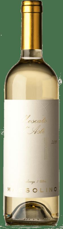 10,95 € Free Shipping | Sweet wine Massolino Serralunga D.O.C.G. Moscato d'Asti Piemonte Italy Muscat White Bottle 75 cl