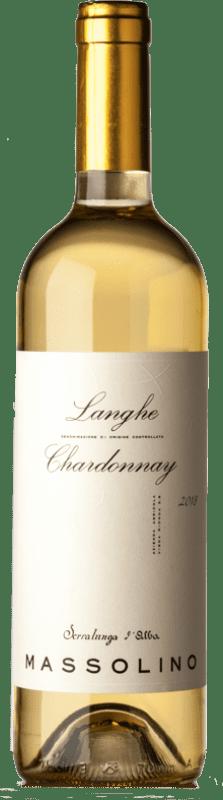 12,95 € Free Shipping | White wine Massolino D.O.C. Langhe Piemonte Italy Chardonnay Bottle 75 cl
