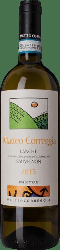 29,95 € Free Shipping | White wine Matteo Correggia D.O.C. Langhe Piemonte Italy Sauvignon Bottle 75 cl
