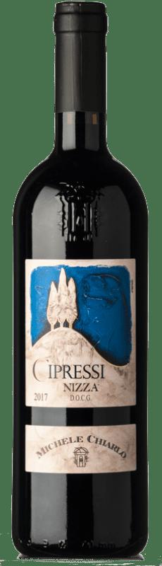 13,95 € Free Shipping | Red wine Michele Chiarlo Nizza I Cipressi D.O.C. Piedmont Piemonte Italy Barbera Bottle 75 cl