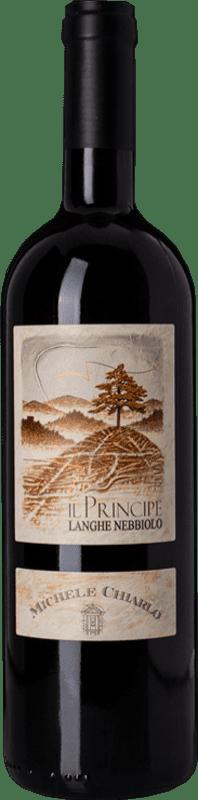 15,95 € Free Shipping | Red wine Michele Chiarlo Il Principe D.O.C. Langhe Piemonte Italy Nebbiolo Bottle 75 cl