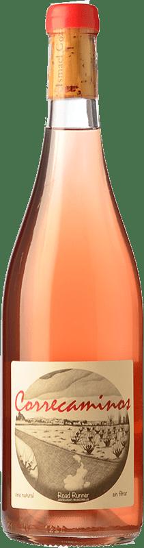 16,95 € Free Shipping | Rosé wine Microbio Correcaminos Rosado Spain Tempranillo, Verdejo Bottle 75 cl