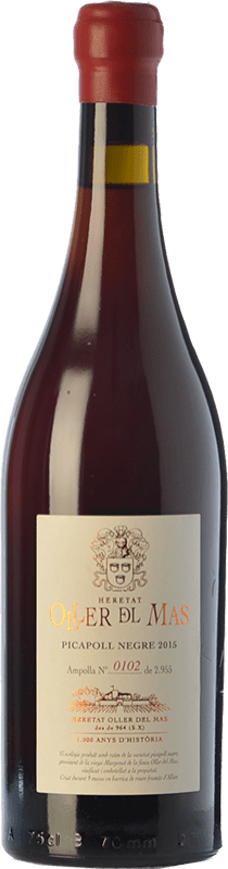 59,95 € Free Shipping   Red wine Oller del Mas Negre Crianza D.O. Pla de Bages Catalonia Spain Picapoll Bottle 75 cl