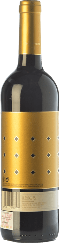 19,95 € Free Shipping | Red wine Torres Altos Ibéricos Reserva D.O.Ca. Rioja The Rioja Spain Tempranillo Bottle 75 cl