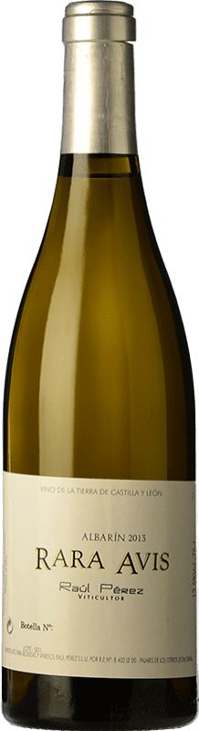 47,95 € Free Shipping | White wine Raúl Pérez Rara Avis Crianza D.O. Tierra de León Castilla y León Spain Albarín Bottle 75 cl