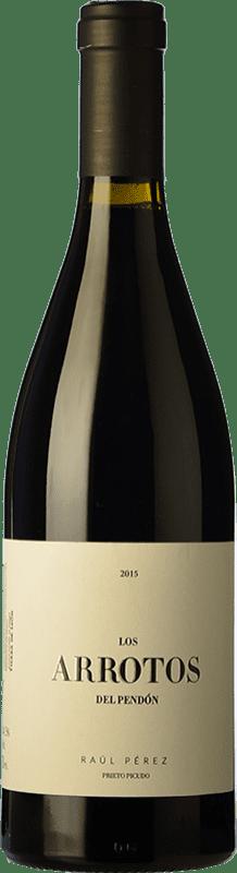 21,95 € Free Shipping | Red wine Raúl Pérez Los Arrotos del Pendón Crianza D.O. Tierra de León Castilla y León Spain Prieto Picudo Bottle 75 cl
