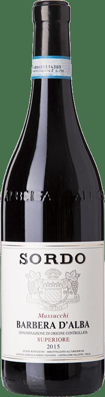 18,95 € Free Shipping   Red wine Sordo Massucchi Superiore D.O.C. Barbera d'Alba Piemonte Italy Barbera Bottle 75 cl
