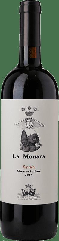 24,95 € Free Shipping   Red wine Tasca d'Almerita Sallier de La Tour La Monaca D.O.C. Sicilia Sicily Italy Syrah Bottle 75 cl