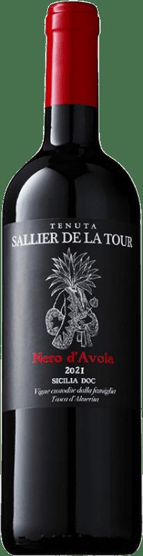 10,95 € Free Shipping   Red wine Tasca d'Almerita Sallier de la Tour D.O.C. Sicilia Sicily Italy Nero d'Avola Bottle 75 cl