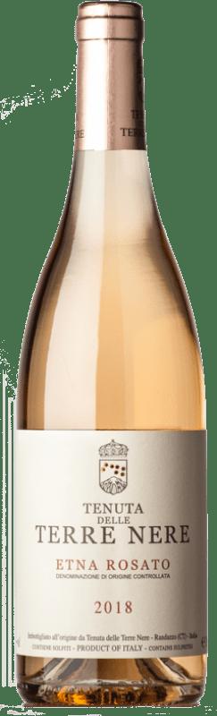 27,95 € Free Shipping | Rosé wine Tenuta Nere Rosato D.O.C. Etna Sicily Italy Nerello Mascalese, Nerello Cappuccio Bottle 75 cl
