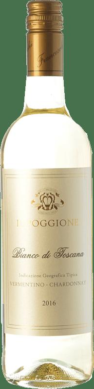 12,95 € Free Shipping | White wine Il Poggione Bianco I.G.T. Toscana Tuscany Italy Chardonnay, Vermentino Bottle 75 cl