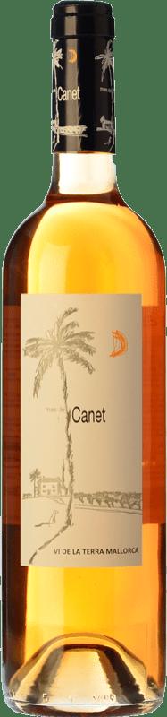 5,95 € Free Shipping | Rosé wine Tianna Negre Ses Nines Mas de Canet Rosat I.G.P. Vi de la Terra de Mallorca Majorca Spain Callet, Mantonegro Bottle 75 cl