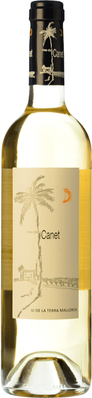7,95 € Free Shipping | White wine Tianna Negre Ses Nines Mas de Canet Blanc I.G.P. Vi de la Terra de Mallorca Majorca Spain Muscat, Chardonnay, Premsal Bottle 75 cl