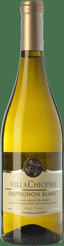 8,95 € Free Shipping | White wine Villa Chiòpris D.O.C. Friuli Grave Friuli-Venezia Giulia Italy Sauvignon Bottle 75 cl