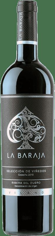 41,95 € Free Shipping | Red wine Viña Vilano La Baraja Reserva D.O. Ribera del Duero Castilla y León Spain Tempranillo, Merlot, Cabernet Sauvignon Bottle 75 cl