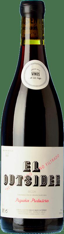 17,95 € Free Shipping | Red wine En Voz Baja El Outsider Roble D.O.Ca. Rioja The Rioja Spain Grenache Bottle 75 cl