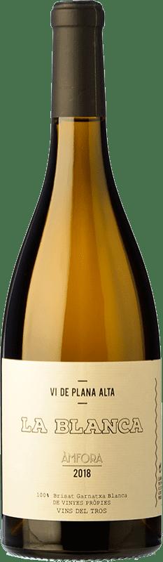 14,95 € Free Shipping   White wine Vins del Tros La Blanca Crianza Spain Grenache White Bottle 75 cl