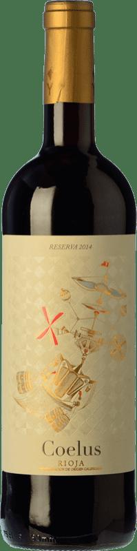 14,95 € Free Shipping | Red wine Yllera Coelus Reserva D.O.Ca. Rioja The Rioja Spain Tempranillo, Grenache, Mazuelo Bottle 75 cl