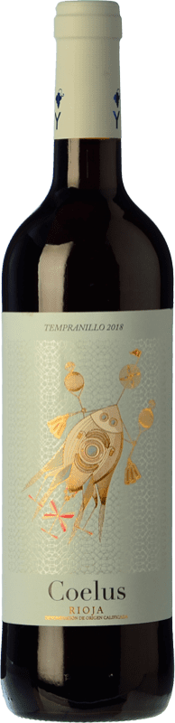 5,95 € Free Shipping | Red wine Yllera Coelus Joven D.O.Ca. Rioja The Rioja Spain Tempranillo Bottle 75 cl