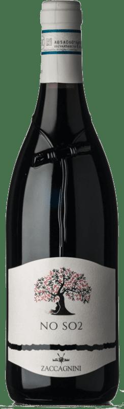 9,95 € Free Shipping | Red wine Zaccagnini NO SO2 D.O.C. Montepulciano d'Abruzzo Abruzzo Italy Montepulciano Bottle 75 cl