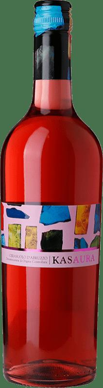 5,95 € Free Shipping | Rosé wine Zaccagnini Kasaura Joven D.O.C. Cerasuolo d'Abruzzo Abruzzo Italy Montepulciano Bottle 75 cl
