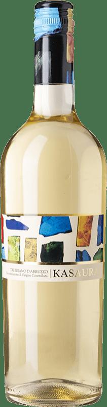 6,95 € Free Shipping | White wine Zaccagnini Kasaura D.O.C. Trebbiano d'Abruzzo Abruzzo Italy Trebbiano d'Abruzzo Bottle 75 cl