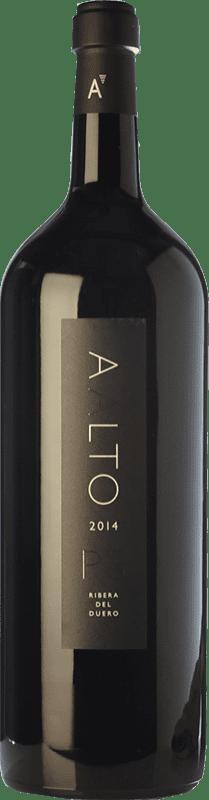 727,95 € 免费送货 | 红酒 Aalto PS Reserva D.O. Ribera del Duero 卡斯蒂利亚莱昂 西班牙 Tempranillo 特别的瓶子 5 L