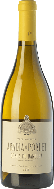 17,95 € | White wine Abadia de Poblet Blanc D.O. Conca de Barberà Catalonia Spain Macabeo, Parellada Bottle 75 cl