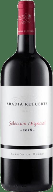 53,95 € 免费送货 | 红酒 Abadía Retuerta Selección Especial Crianza I.G.P. Vino de la Tierra de Castilla y León 卡斯蒂利亚莱昂 西班牙 Tempranillo, Syrah, Cabernet Sauvignon 瓶子 Magnum 1,5 L