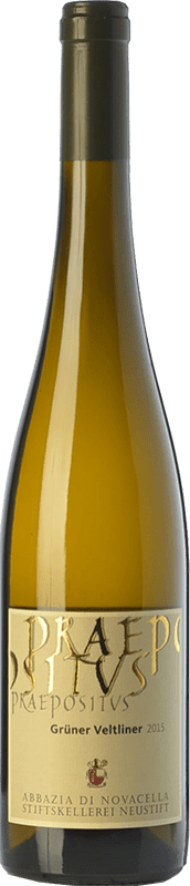22,95 € Free Shipping | White wine Abbazia di Novacella Praepositus D.O.C. Alto Adige Trentino-Alto Adige Italy Grüner Veltliner Bottle 75 cl